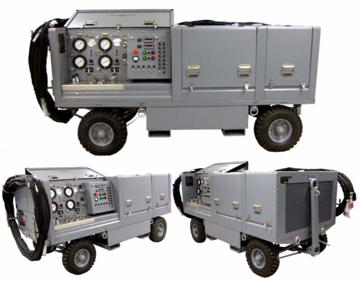 Air Force Hydraulic Test Stands Carts Rigs
