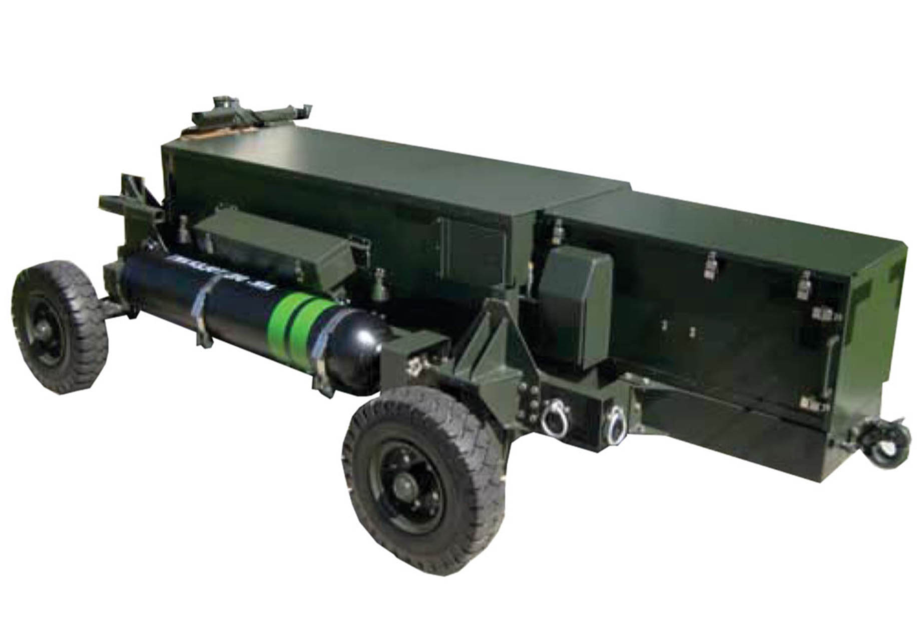 Electric Hydraulic Pump >> Linkless Ammunition Loading System (LALS)