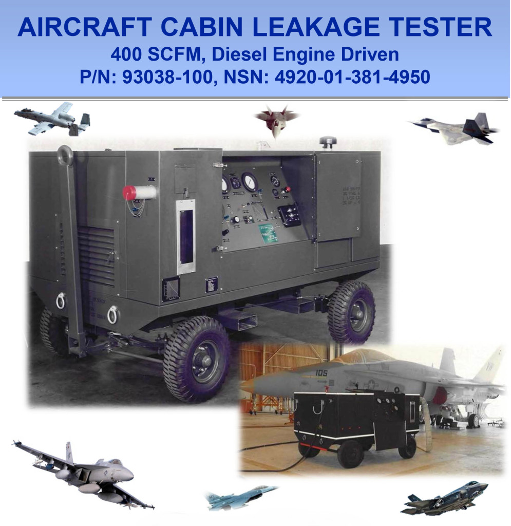 Aircraft Cabin Pressurization Leakage Tester