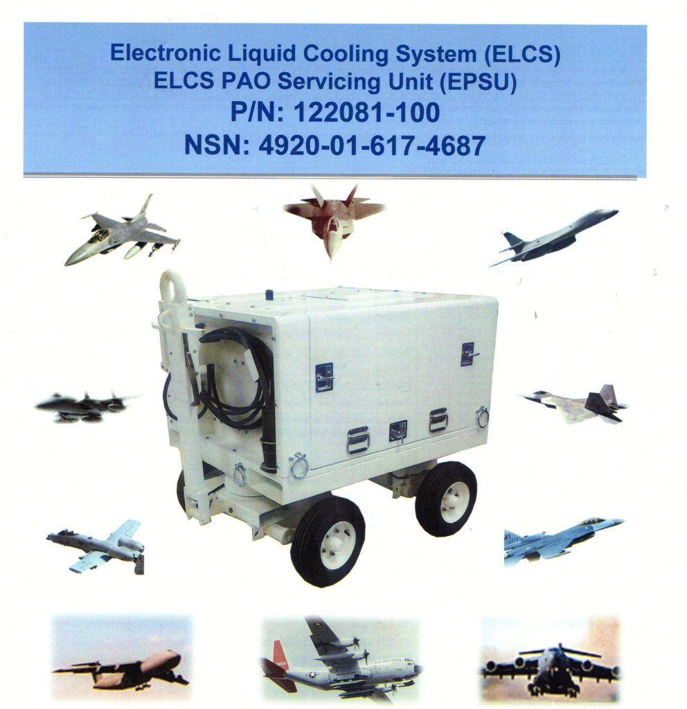 Portable Aircraft Electronic Liquid Cooling System